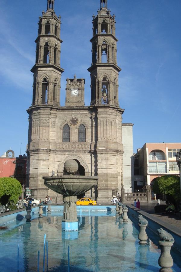 La cathédrale de Tépic.
