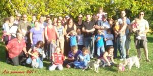 Groupe des pommes 2011
