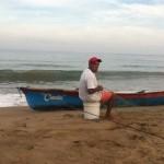 Un pêcheur à la Penita